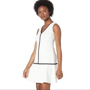 Preppy Calvin Klein Drop Waist Dress